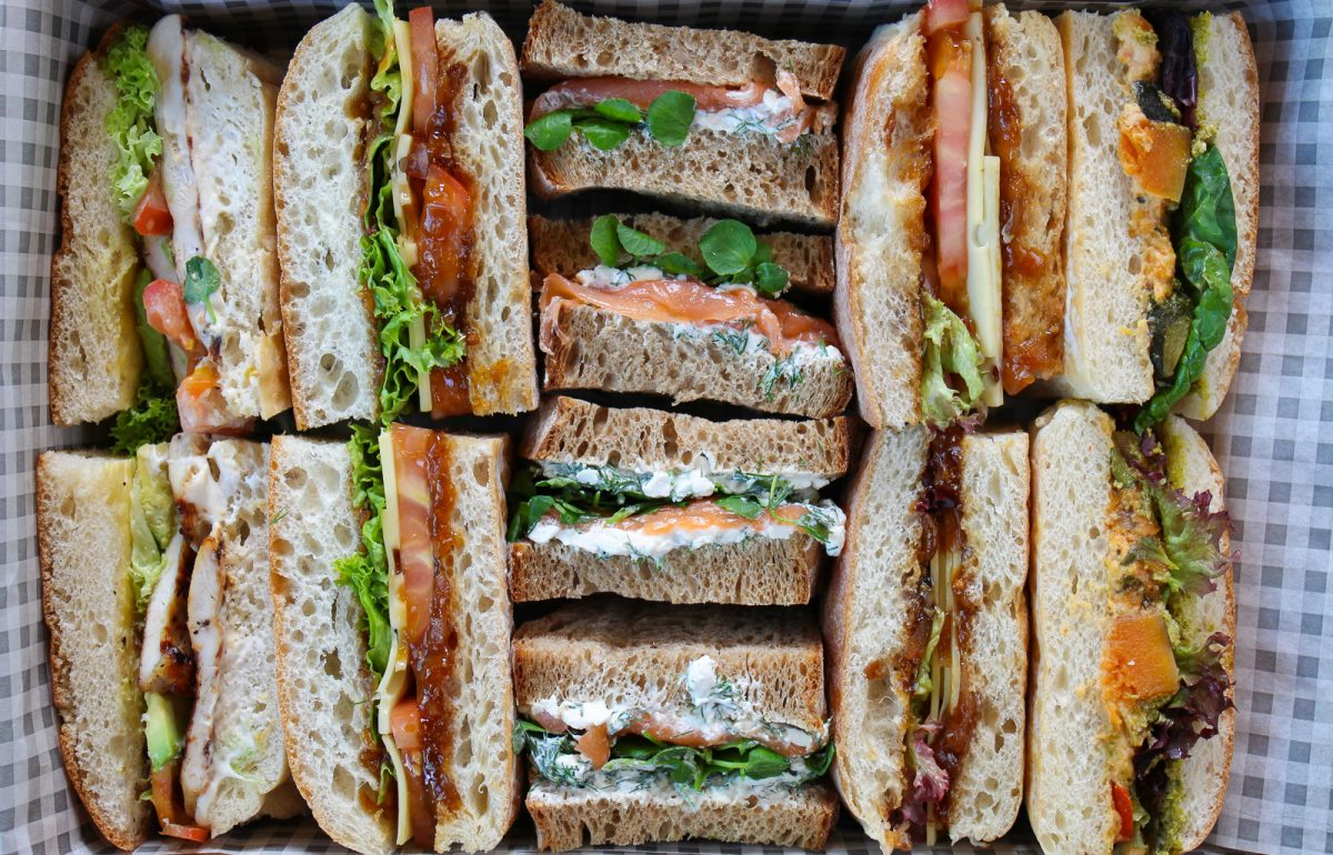 Classic Mix 1 Sandwich Close Up