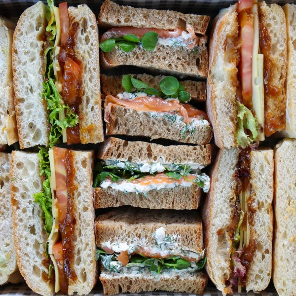 Classic Mix 1 Sandwich Close Up